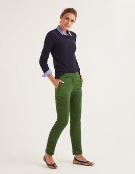 Fève Pantalon Chawton en velours côtelé