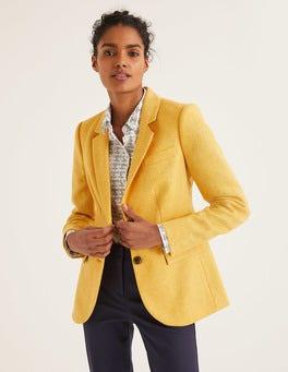 Yellow Herringbone Smyth British Tweed Blazer