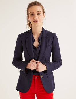 NavyWollstonecraft Tweed-Blazer