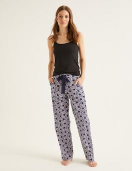 Navy Leopard Spot Mollie PJ Bottoms