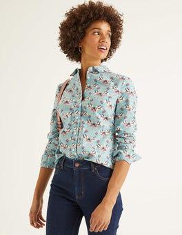 Himmelblau, Nachtigall Modern klassisches Hemd
