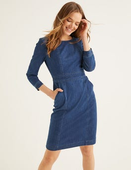 Mid Vintage Denim Coraline Dress
