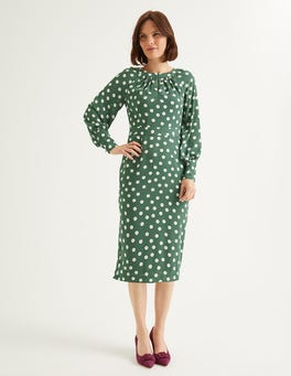 Broad Bean Brand Polka Dot Portia Dress