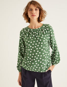 Broad Bean, Brand Polka Dot Eadie Top