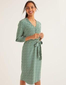 Ackerbohnengrün, Ornamente Florence Kleid