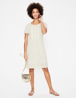 Ivory Cressida Jersey Dress