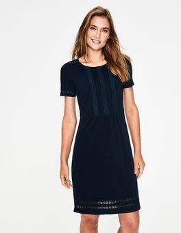 Navy Cressida Jersey Dress