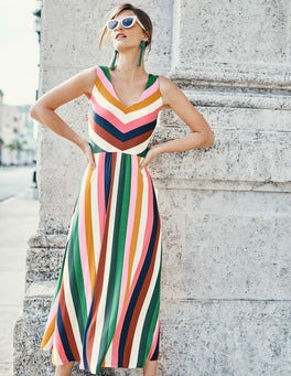 Octavia Jersey Midi Dress