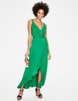 Highland Green Nora Jersey Maxi Dress