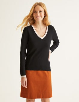 Elina V-Neck Jumper