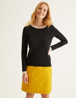 Black/Multi Tipping Elina Jumper
