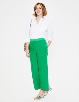 Highland Green Exeter Wide Leg Culottes