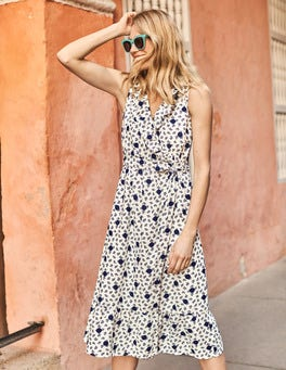 Robe midi Nancy en lin