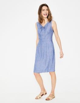 Light Chambray Rae Linen Dress