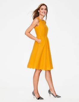 Yellow Ochre Judith Dress