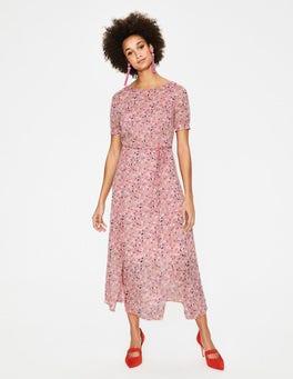 Milkshake Blossom Vine Jane Midi Dress