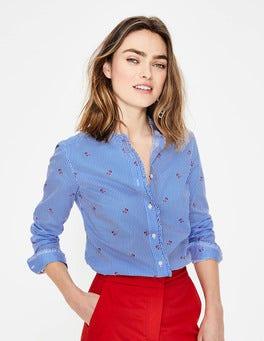 Ivory Cherry Picking Mabel Shirt