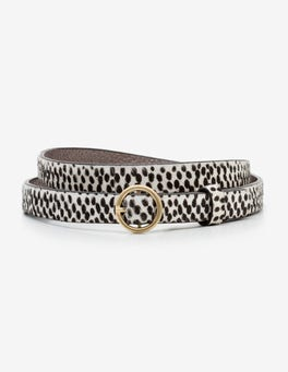 Mini Spot Skinny Waist Belt