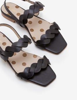 Black Clementine Sandals