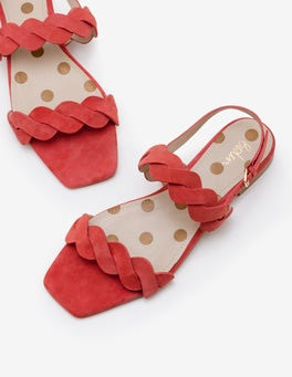 Rouge Clementine Sandals