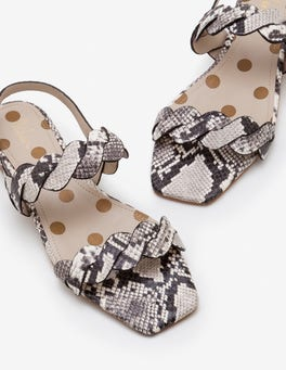 Snake Clementine Sandals