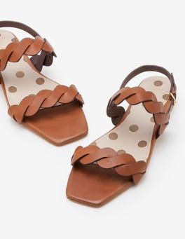 Tan Clementine Sandals