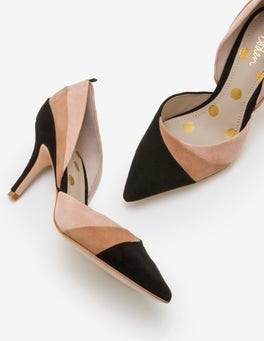 Black, Soft Truffle and Fawn Henrietta Courts