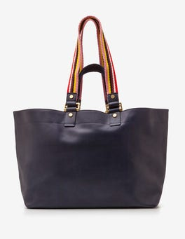 Navy Edinburgh Shopper
