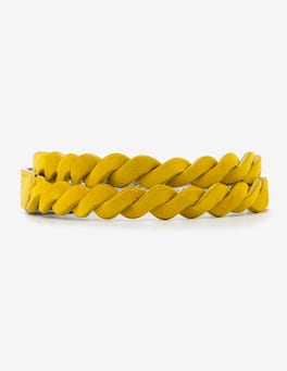 Happy Woven Waist Belt