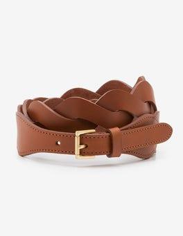 Tan Woven Belt