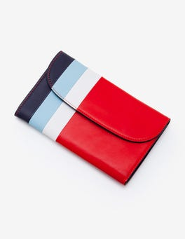 Red Pop Stripe Purse