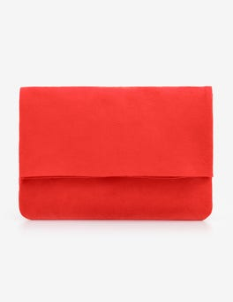 Red Pop Bury Clutch Bag