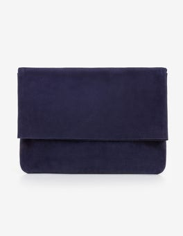 Navy Bury Clutch Bag