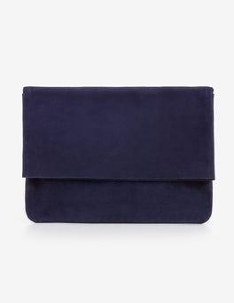 Navy Bury Clutch Bag