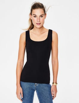 Black Essential Vest