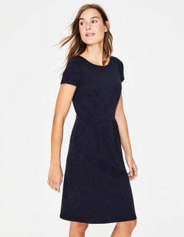 Navy Phoebe Jersey Dress