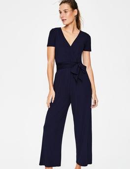 Navy Ellen Jersey-Jumpsuit