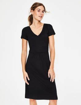 Black Penelope Jersey Dress