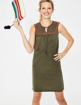 Classic Khaki Nella Jersey Dress