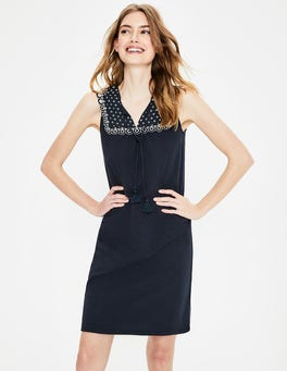 Navy Nella Jersey Dress