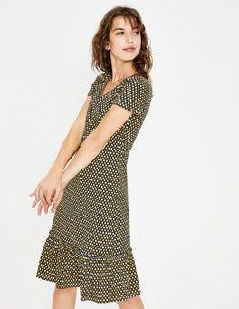 Happy Diamond Lattice Melissa Jersey Dress