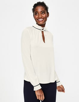 Ivory Bronwyn Jersey Top