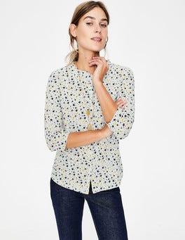 Naturweiß, BlumenhimmelBay Jerseyshirt