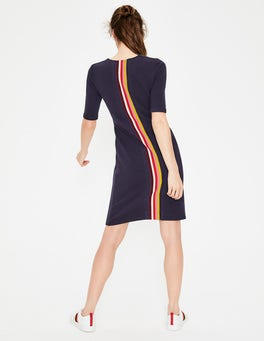 Navy Jemima Ottoman Dress
