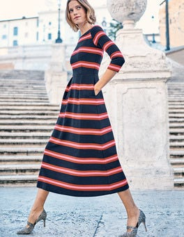 Alma Ottoman Midi Dress