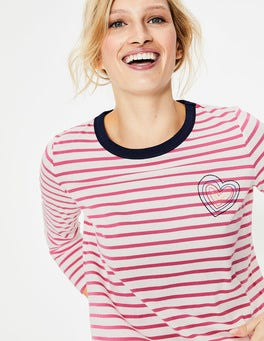 Embroidered Heart Make A Statement Breton