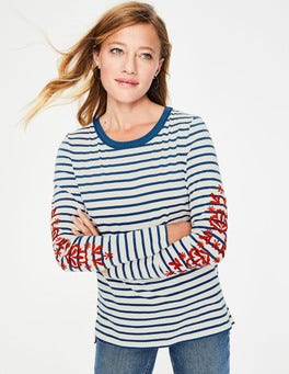 Embroidered Sleeve Make A Statement Breton