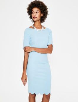 Heron Blue Emma Ponte Dress
