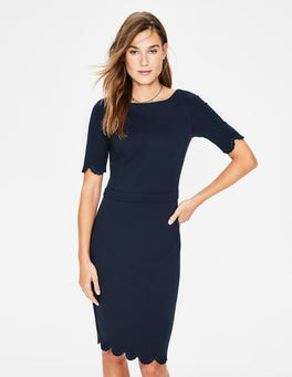 Navy Emma Ponte Dress
