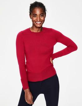 Dark Rose Tilda Crew Neck Sweater
